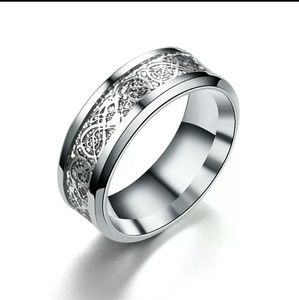 🌹Coming Soon 🌹Mens Stainless Steel Dragon Ring🌹